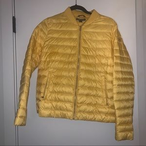 Tommy Hilfiger Yellow Packed Puffer Coat